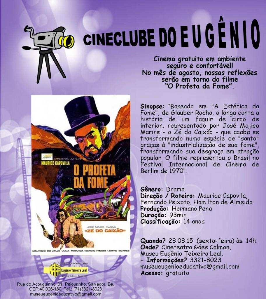 CineClube Agosto - Profeta da Fome -28