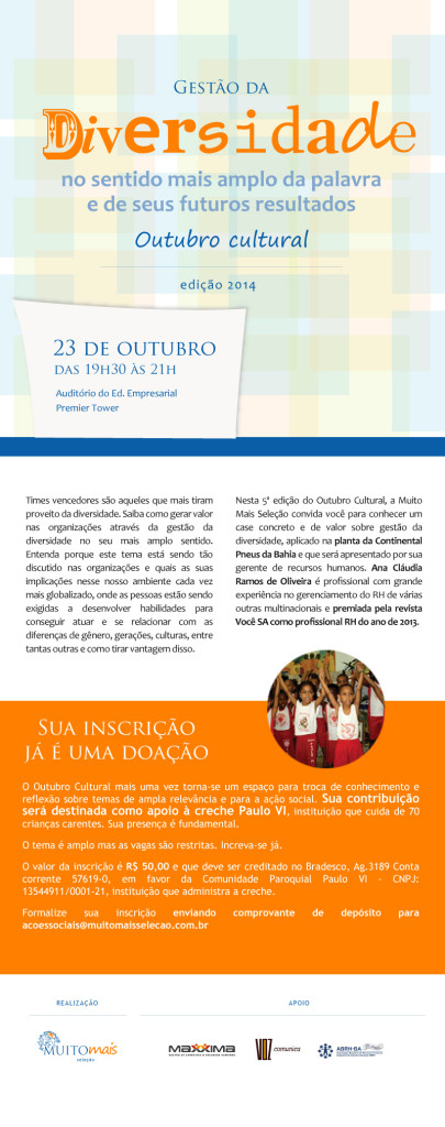 Folder OutubroCultural 2014_newsletter